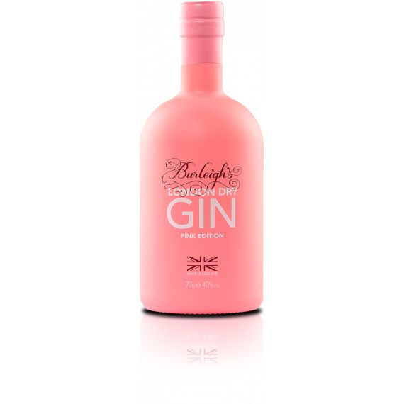 BURLEIGHS PINK GIN 70CL 40%