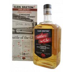 GLEN BRETON BATTLE OF THE GLEN 15 AÑOS 70CL 43%
