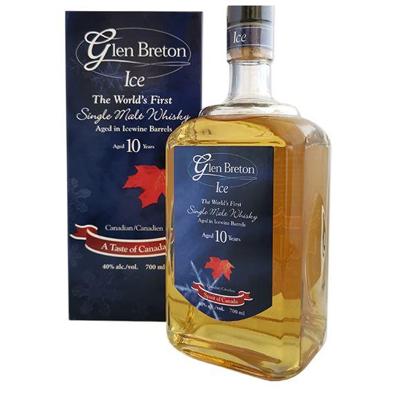 GLEN BRETON ICE WINE BARREL WHISKY 10 AÑOS 70CL 40%