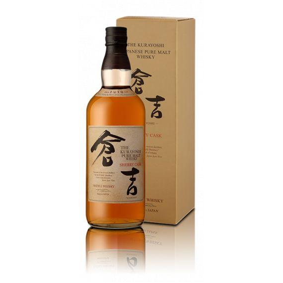 "KURAYOSHI PURE MALT WHISKY ""SHERRY CASK"" 70CL 43%"