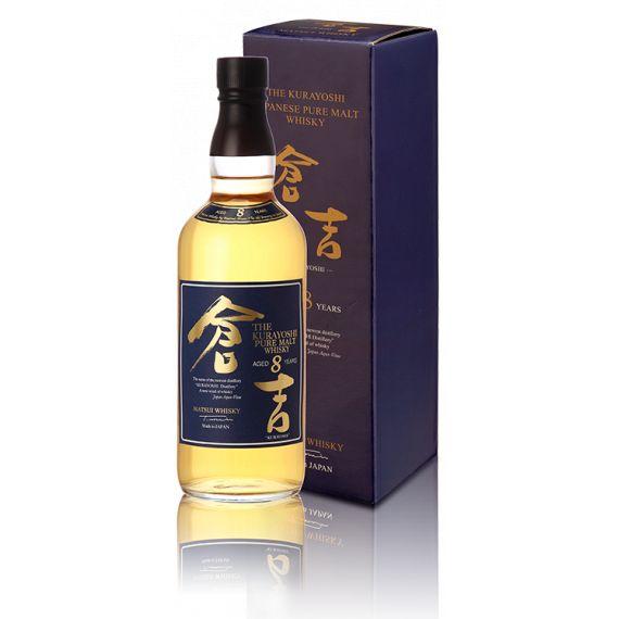 KURAYOSHI PURE MALT WHISKY 8 AÑOS 70CL 43%
