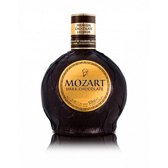 MOZART DARK CHOCOLATE LIQUER 50CL 17%