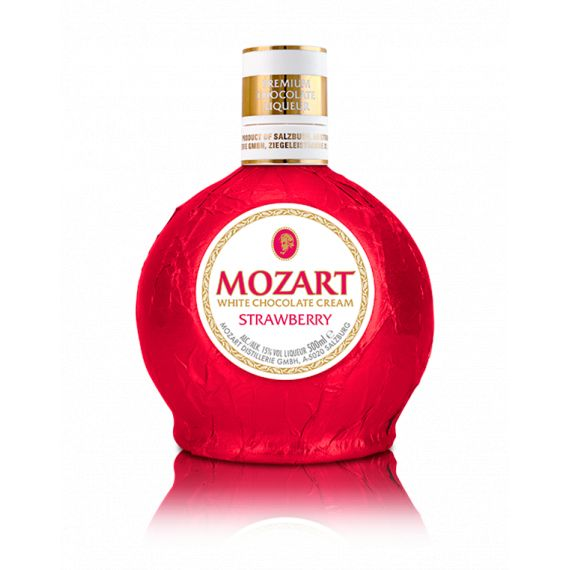 MOZART STRAWBERRY CHOCOLATE CREAM 50CL 15%