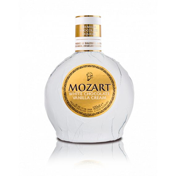 MOZART WHITE CHOCOLATE CREAM 50CL 15%