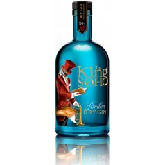 THE KING OF SOHO LONDON DRY GIN 70CL 42%