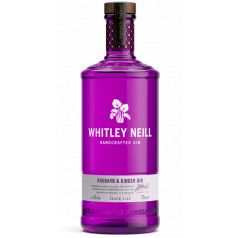 WHITLEY NEILL RHUBARB & GINGER GIN 100CL 43%