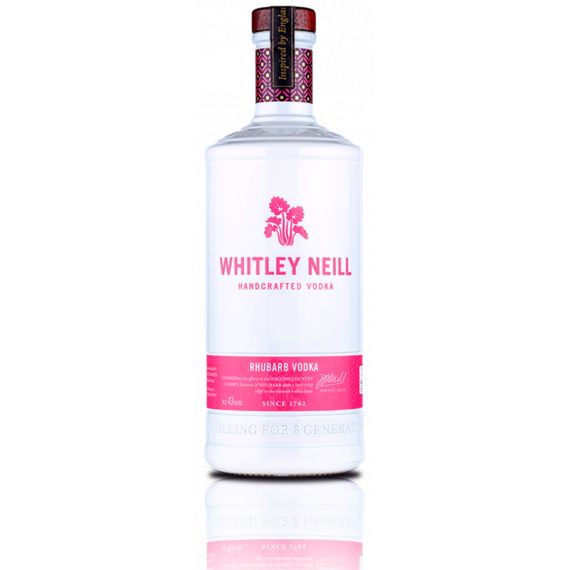 WHITLEY NEILL VODKA RHUBARB 70CL 43%