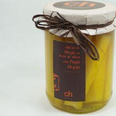 Queso con Trufa en aceite de olivia virgen extra 100%