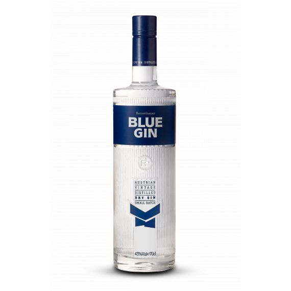 BLUE AUSTRIAN VINTAGE DRY GIN 175CL 43%