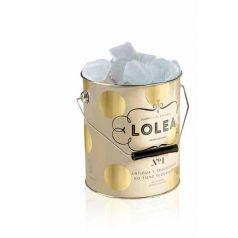 Ice Bucket + 2 Lolea Brut Nº3 Dorada/Blanca