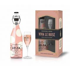 Lolea Rose x mas edition pack Rose + Copa