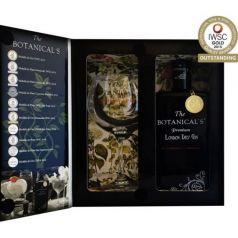 The Botanical's Premium London Dry Gin (MEDALLA DE ORO IWSC) Pack Deluxe, 70 cl. 42,5º + COPA BALÓN serigrafiada.