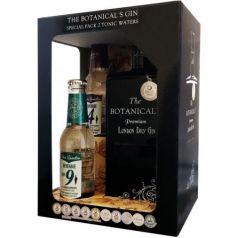 The Botanical's Premium London Dry Gin (MEDALLA DE ORO IWSC) Pack Gin 70 cl. 42,5º + 1 tarro enebro + 1 tarro cardamomo
