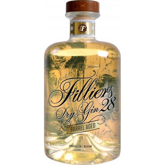 """Filliers 28 Premium Dry Gin """"Barrel Aged"""" 50cl 43,7%"""