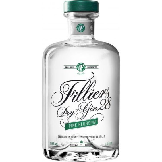 "Filliers 28 Premium Dry Gin ""Pine Blossom"" 50cl 42,6%"