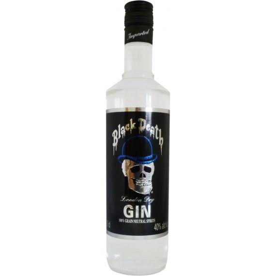 Black Death Gin London Dry, 70 cl. 40 %
