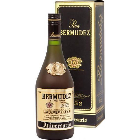 Ron Bermúdez Aniversario 12 Años Envejecido 70cl 40% + estuche