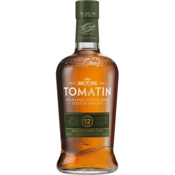 Tomatin Single Malt Scotch Whisky 12 Años 70cl 43% + Estuche