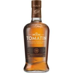 Tomatin Single Malt Scotch Whisky 18 Años 70cl 46% + Estuche