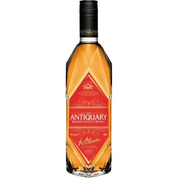 THE ANTIQUARY BLENDED SCOTCH WHISKY 70CL 40% ETIQUETA ROJA
