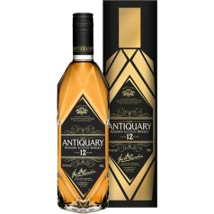 THE ANTIQUARY BLENDED SCOTCH WHISKY 12 AÑOS 70CL 40% + ESTUCHE