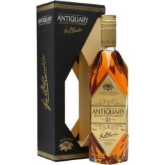 THE ANTIQUARY BLENDED SCOTCH WHISKY 21 AÑOS 70CL 43% + ESTUCHE LUJO