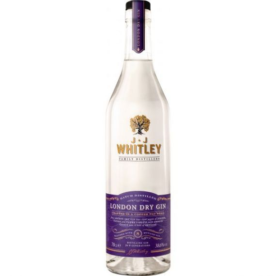 JJ Whitley London Dry Gin 70cl 40% Premium London Dry Gin