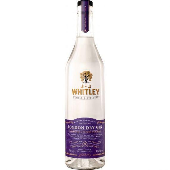 JJ Whitley London Dry Gin 70cl 40%