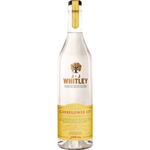 JJ Whitley Eldelflower Gin 70cl 40% Premium London Dry Gin