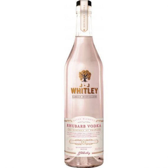 JJ Whitley Rhubarb Vodka 70cl 40% Whitley Neill Premium Vodka