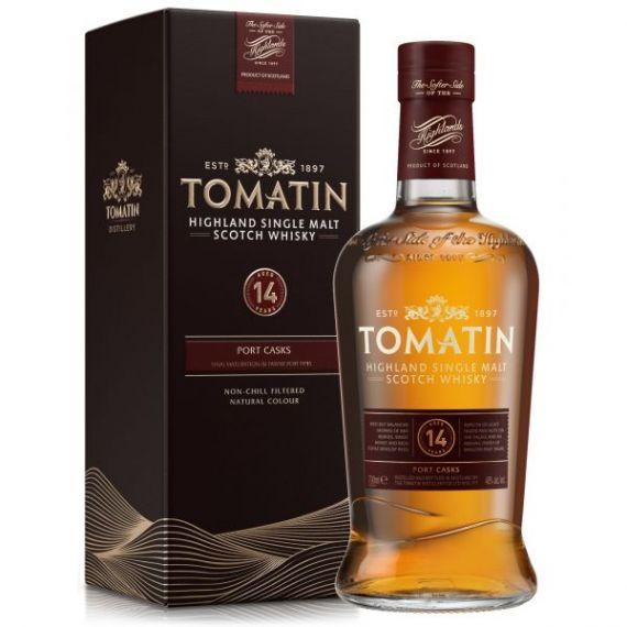 Tomatin Single Malt Whisky 14 Años 70cl 46% + Estuche NUEVA PRESENTACIÓN