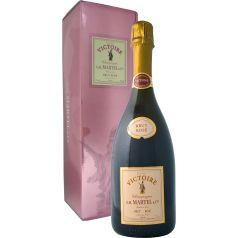 Champagne Curvée Victoire Brut Rosé - Special Bottle, 75cl. 12º