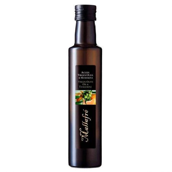 Aceite de oliva virgen con mandarina 250ml. Mallafré