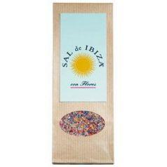 Flor de sal con flores 150gr. Sal de Ibiza