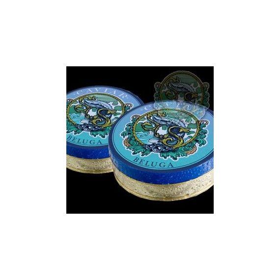 Caviar Beluga 000, 200gr. Sos