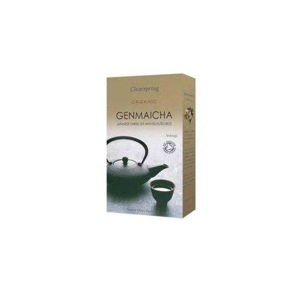 Té verde de arroz tostado Genmaicha 50gr. Clearspring