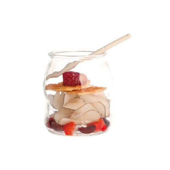 Bote de yogurt 400ml. 100%Chef. 36un.