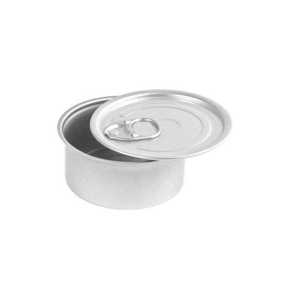 Latas aluminio redonda. 100%Chef. 100un.