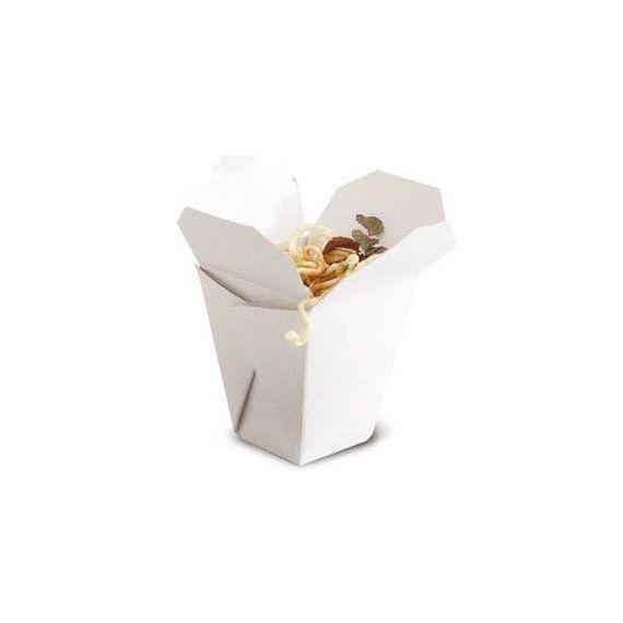 Caja fideo chino. 100%Chef. 100un.