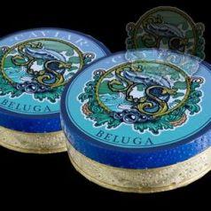 Caviar Beluga Imperial iraní, 125gr. Sos