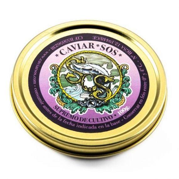 Caviar Supremo de Cultivo, 200gr. Sos