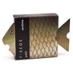 Paté de sardinas 75gr. Riscos