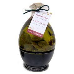 Conjunto Vinagre Balsámico y Aceite AOVE (2 botellas) 250ml. Gourmet Leon