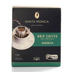 Café Gourmet tostado molido drip coffee orgánico - caja 10 unid