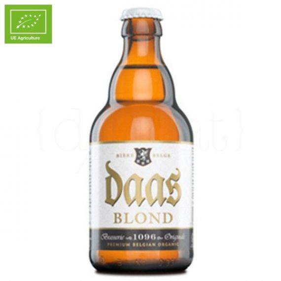 Daas Blonde 330ml. Brasserie 1096 Originale. 24 Unidades
