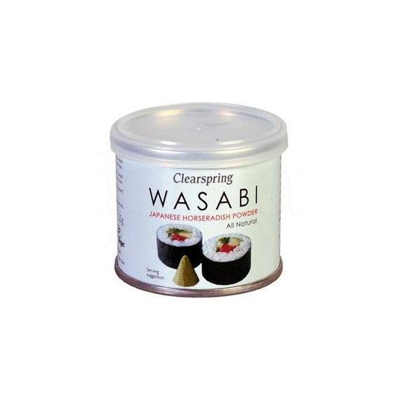 Wasabi en polvo 25gr. Clearspring. 6 Unidades