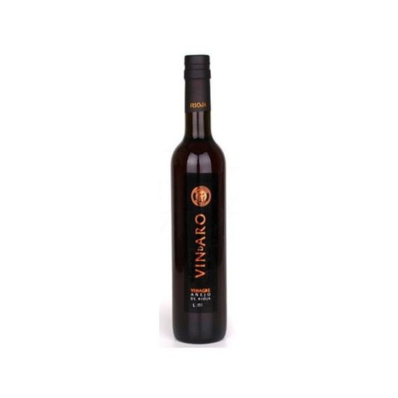 Vinagre de vino de Rioja añejo 2 años 500ml. Vindaro. 6 Unidades
