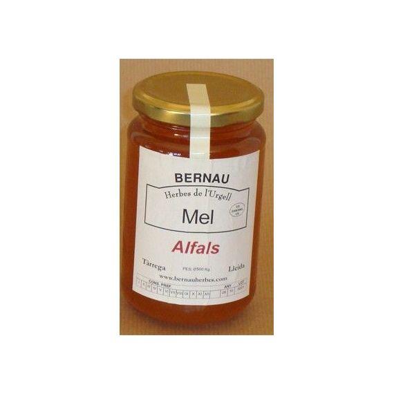 Miel de alfalfa 500gr. Bernau Herbes de l\'Urgell. 6 Unidades