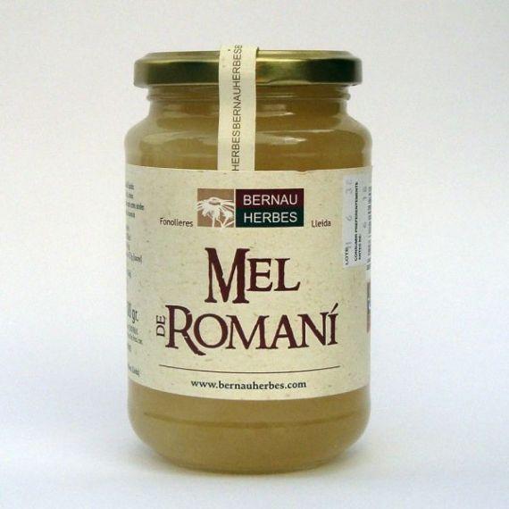 Miel de romero 500gr. Bernau Herbes de l\'Urgell. 6 Unidades