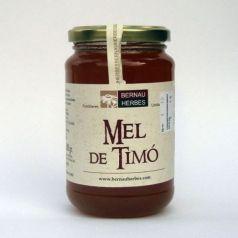 Miel de tomillo 500gr. Bernau Herbes de l\'Urgell. 6 Unidades